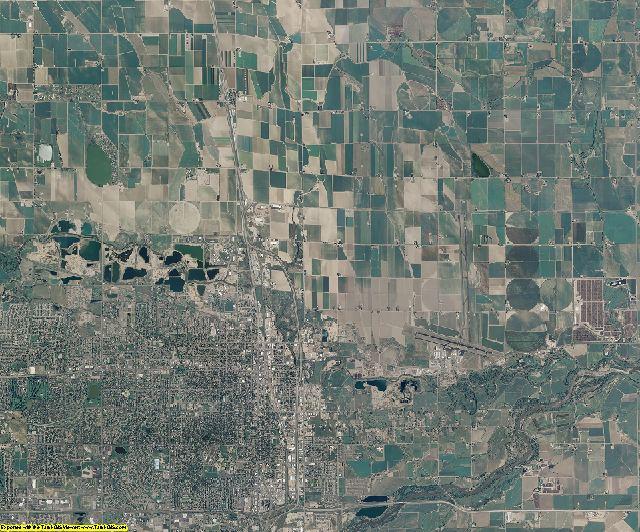 Weld County, Colorado aerial photography