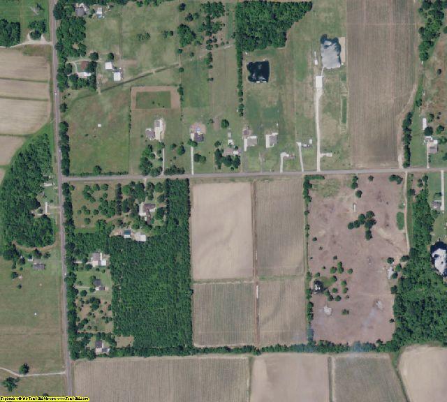 West Baton Rouge County, LA aerial photography detail