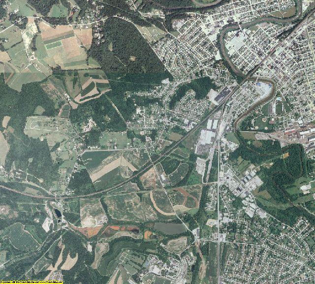 Westmoreland County, Pennsylvania aerial photography