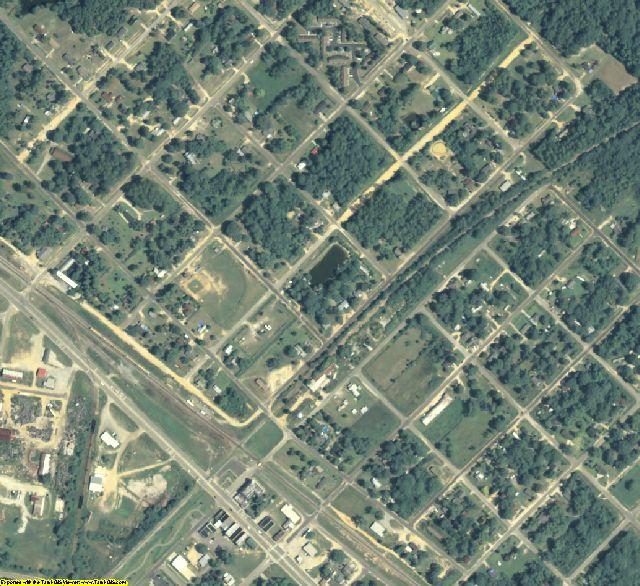 Wheeler County, GA aerial photography detail