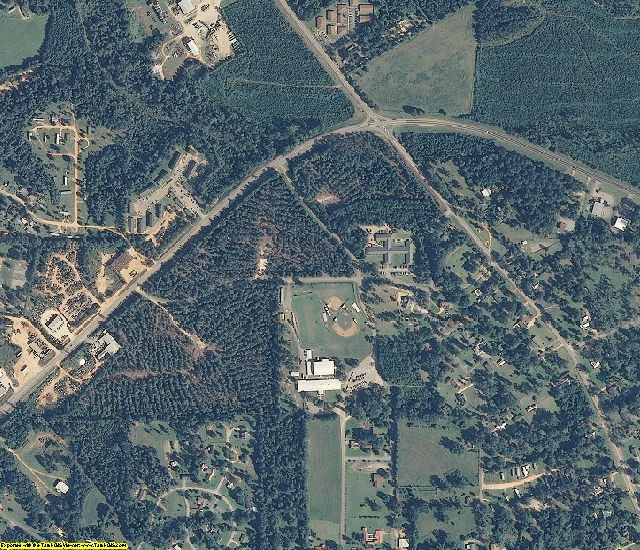 Wilcox County, AL aerial photography detail