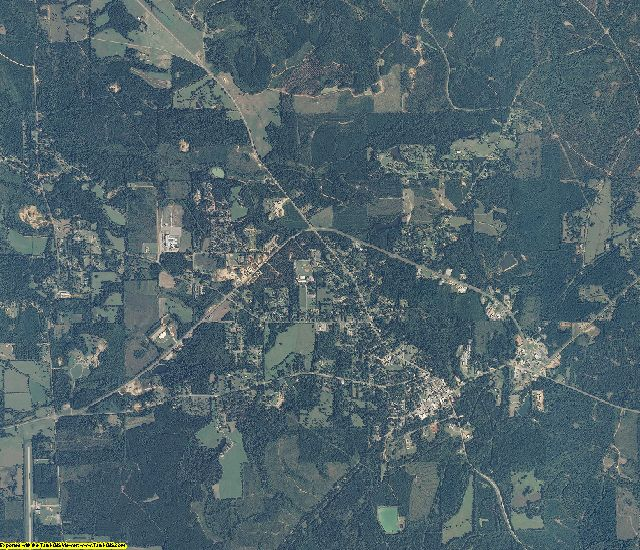 Wilcox County, Alabama aerial photography