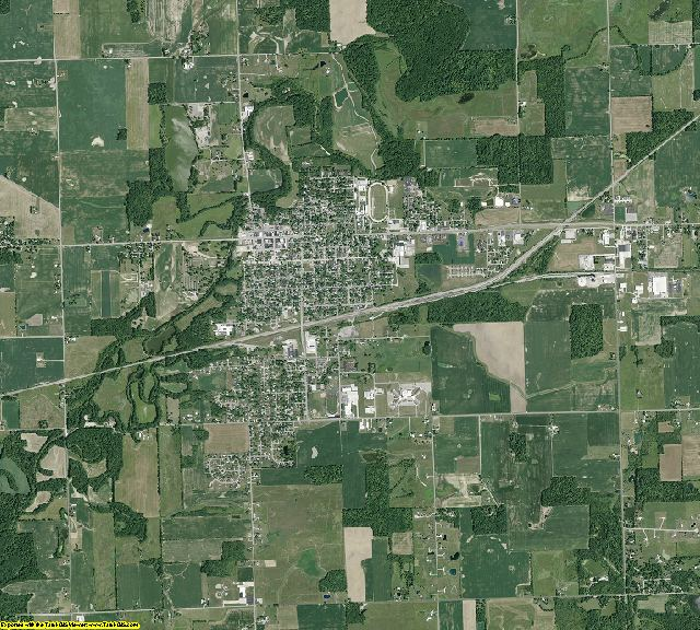 Williams County, Ohio aerial photography