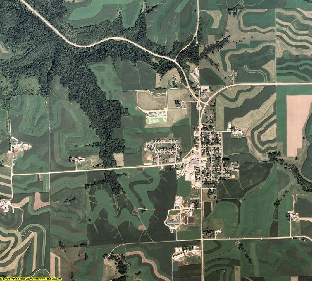 Winona County, Minnesota aerial photography