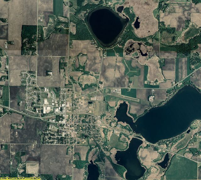 Wright County, Minnesota aerial photography
