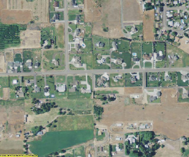Yakima County, WA aerial photography detail