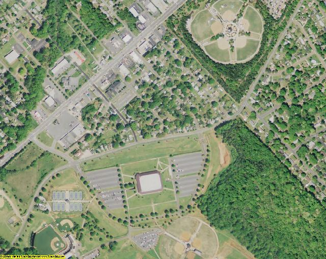 York County, SC aerial photography detail