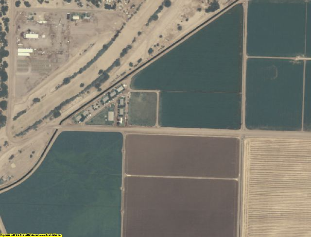 Yuma County, AZ aerial photography detail