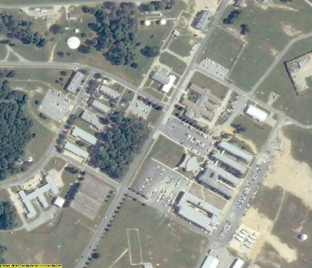 Accomack County, VA aerial photography detail