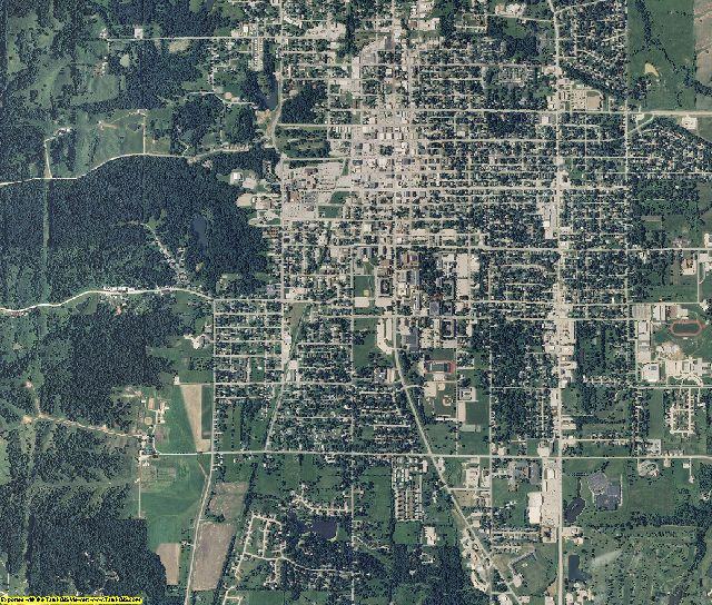 Adair County, Missouri aerial photography