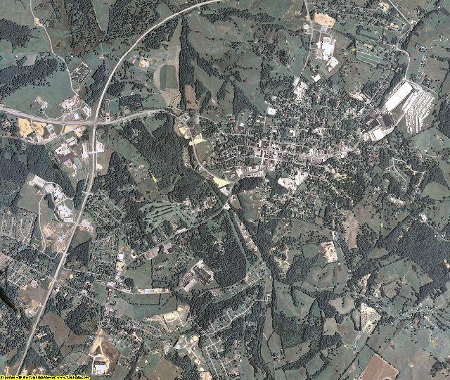 Allen County, Kentucky aerial photography