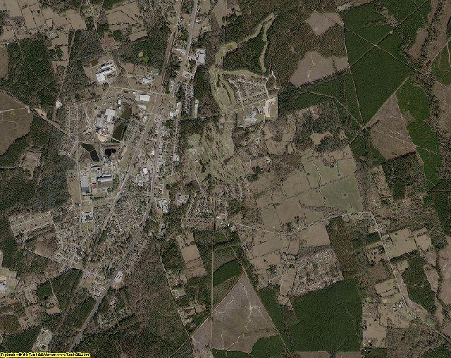Angelina County, Texas aerial photography