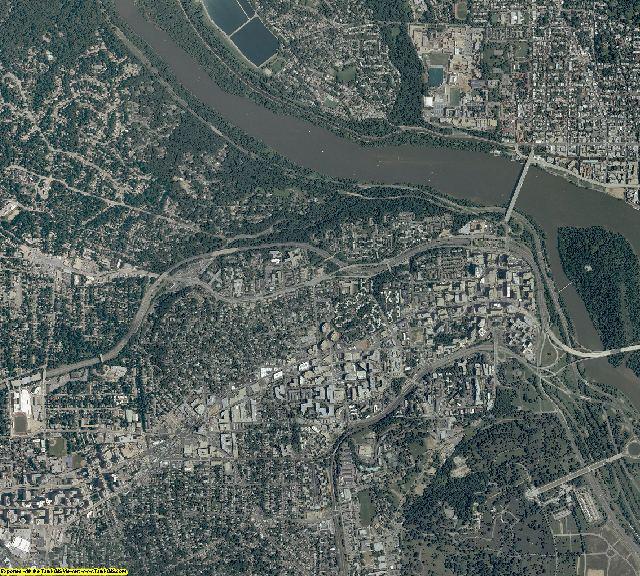 Arlington County, Virginia aerial photography