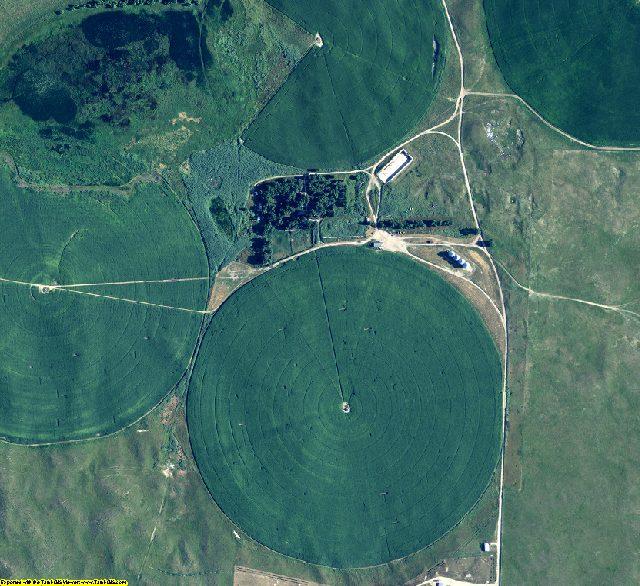 Arthur County, NE aerial photography detail