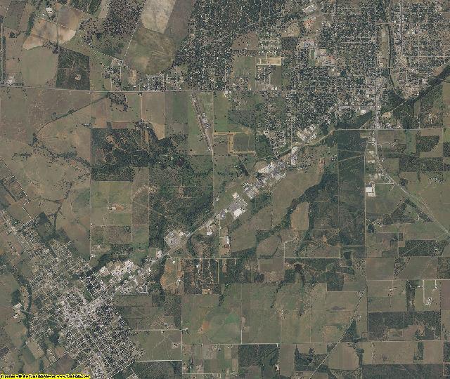 Atascosa County, Texas aerial photography