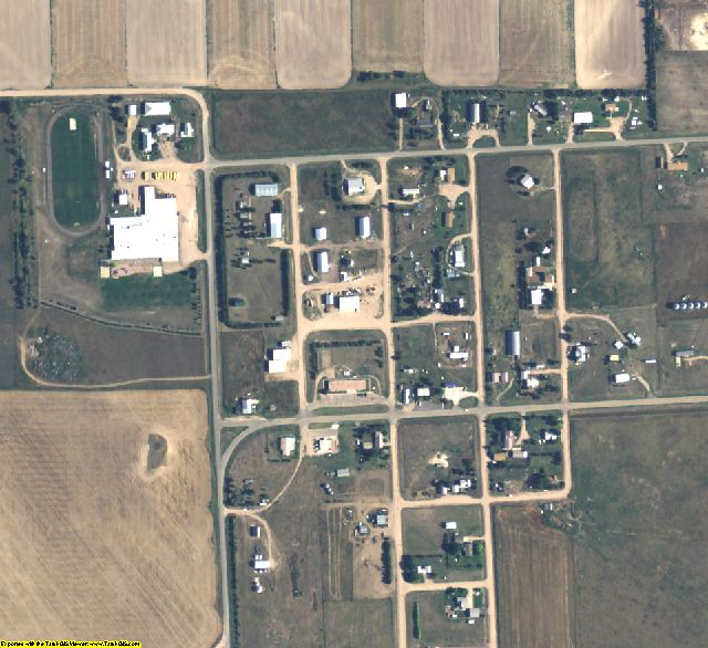 Banner County, NE aerial photography detail