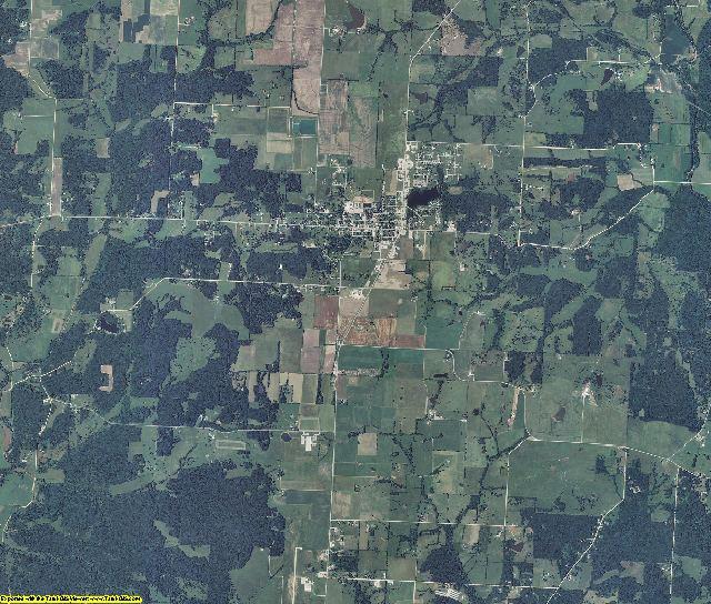 Benton County, Missouri aerial photography