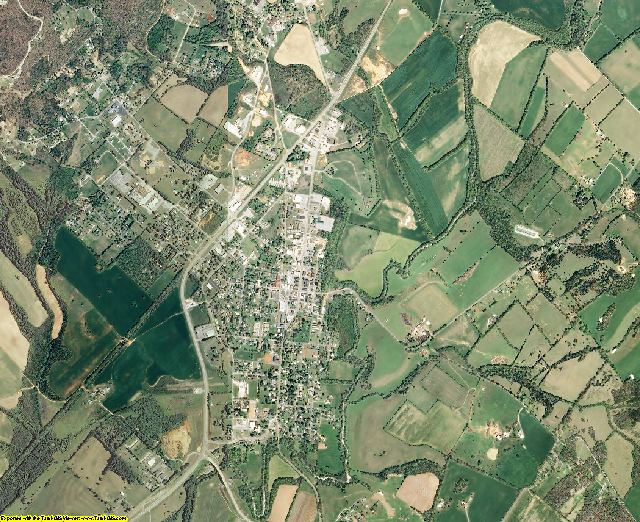Bledsoe County, Tennessee aerial photography
