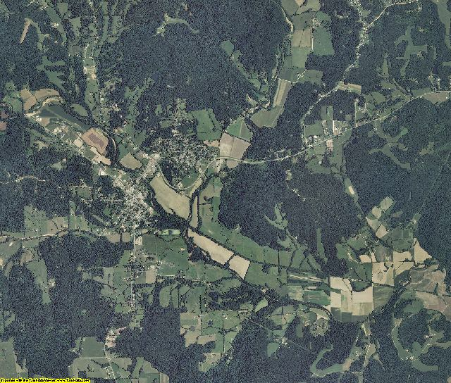 Bollinger County, Missouri aerial photography