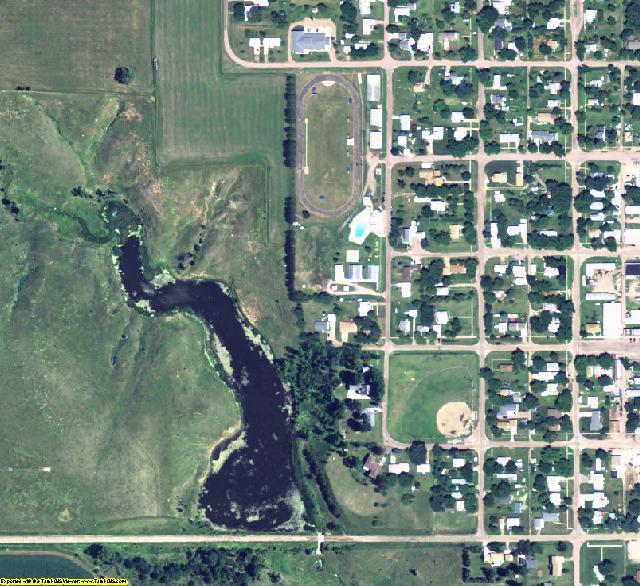Boyd County, NE aerial photography detail