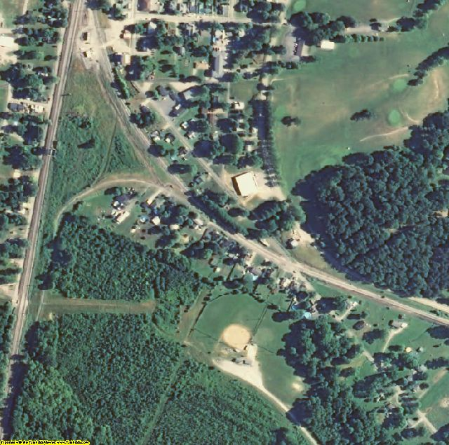 Bullitt County, KY aerial photography detail