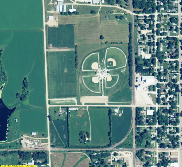 Butler County, NE aerial photography detail