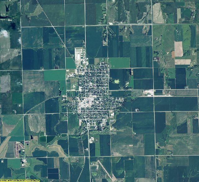 Butler County, Nebraska aerial photography