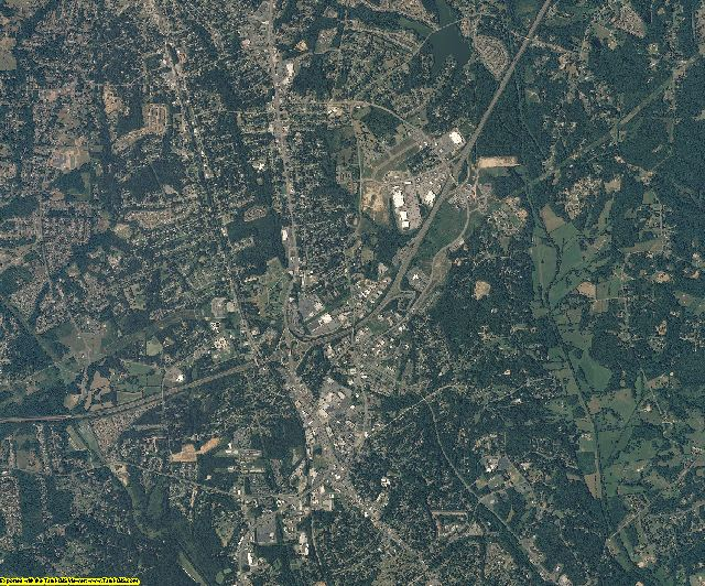 Cabarrus County, North Carolina aerial photography