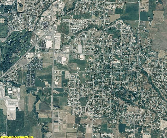 Cache County, Utah aerial photography