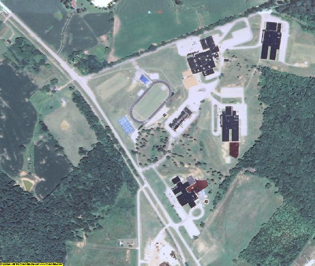 Caldwell County, KY aerial photography detail