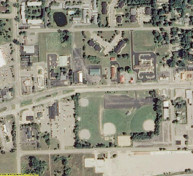 Calhoun County, MI aerial photography detail
