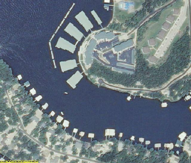 Camden County, MO aerial photography detail