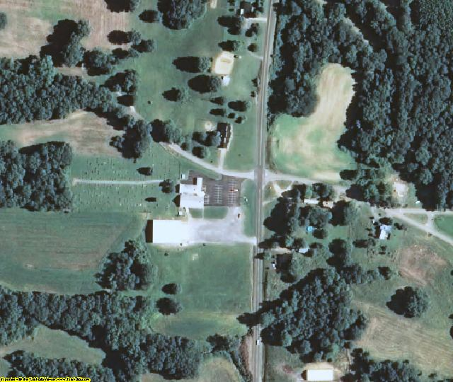Carlisle County, KY aerial photography detail