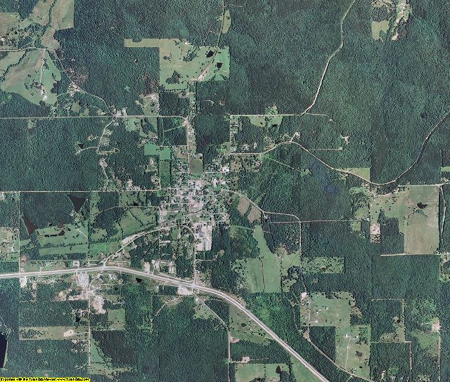 Carter County, Missouri aerial photography