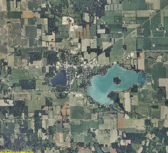 Cass County, Michigan aerial photography