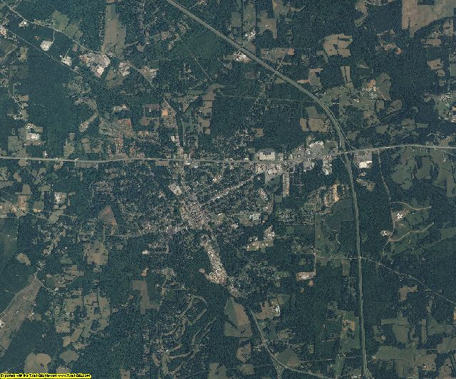 Chatham County, North Carolina aerial photography