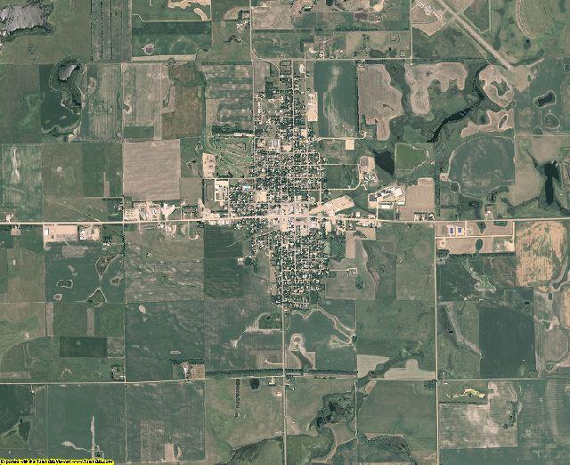 Clark County, South Dakota aerial photography