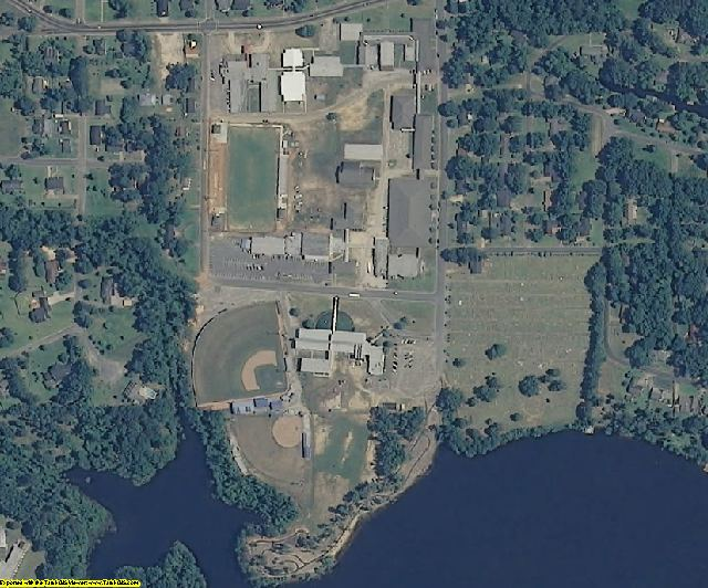 Clarke County, MS aerial photography detail