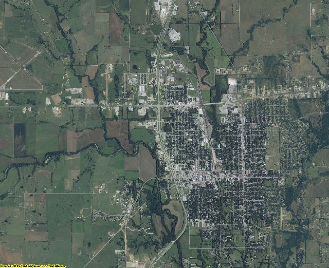 Cooke County, Texas aerial photography