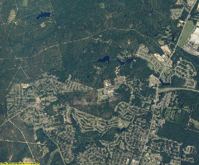 Cumberland County, North Carolina aerial photography