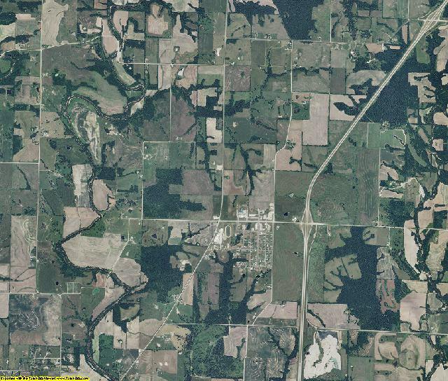 Daviess County, Missouri aerial photography