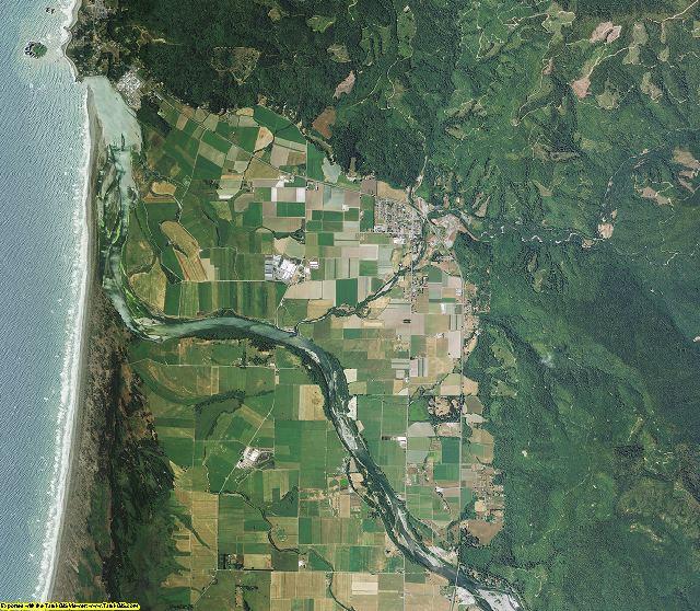 Del Norte County, California aerial photography
