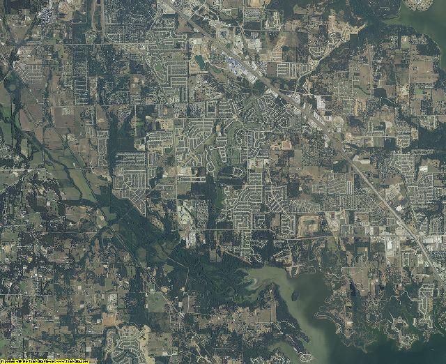 Denton County, Texas aerial photography