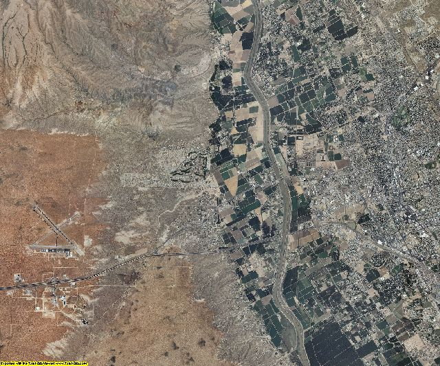 Dona Ana County, New Mexico aerial photography