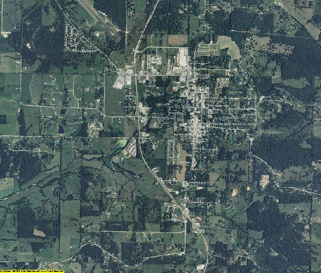 Douglas County, Missouri aerial photography