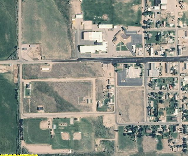 Duchesne County, UT aerial photography detail