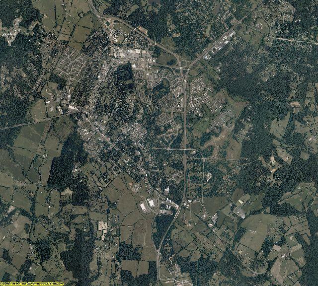 Fauquier County, Virginia aerial photography