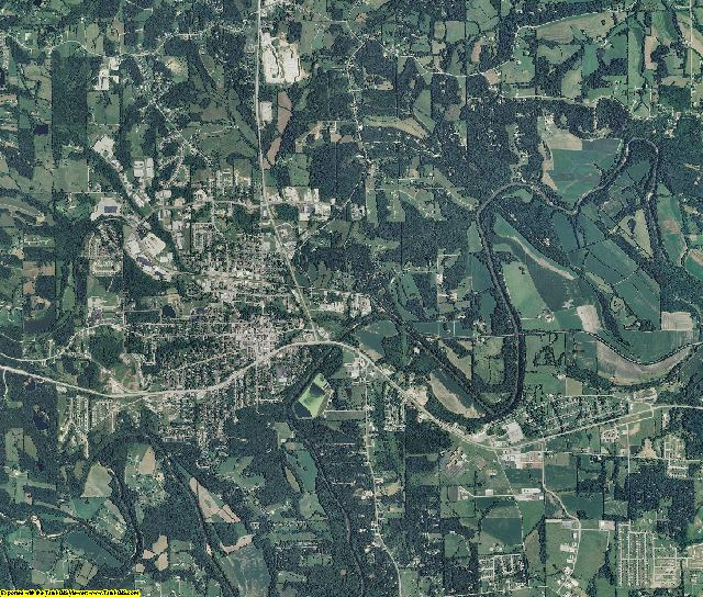 Franklin County, Missouri aerial photography