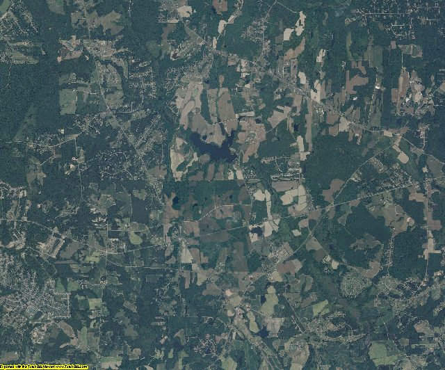 Franklin County, North Carolina aerial photography