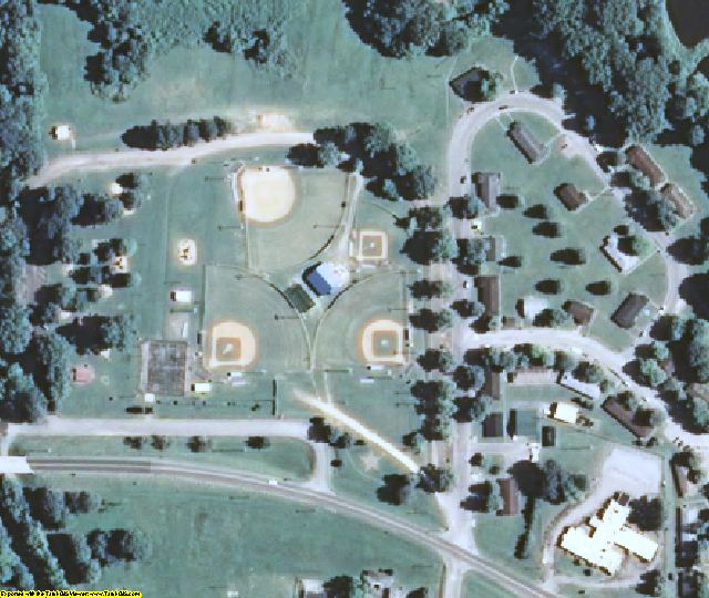 Fulton County, KY aerial photography detail